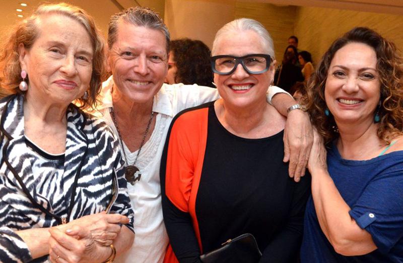 Anna Bella Geiger, Fernando Bicudo, Vera Holtz e Eliane Giardini