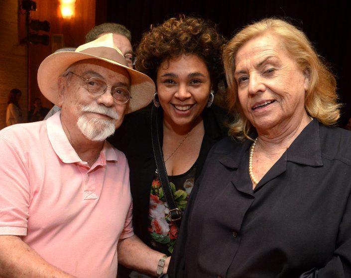 Antonio Pedro, Andrea Bord'Água e Jacqueline Laurence