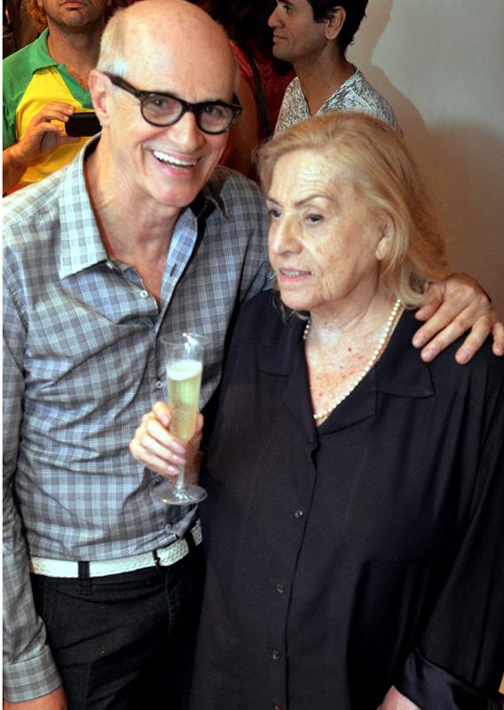 Fernando Caruso e Jacqueline Laurence