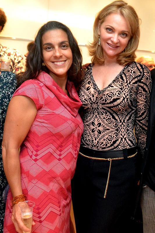 Isabela Bicalho e Alexandra Richter