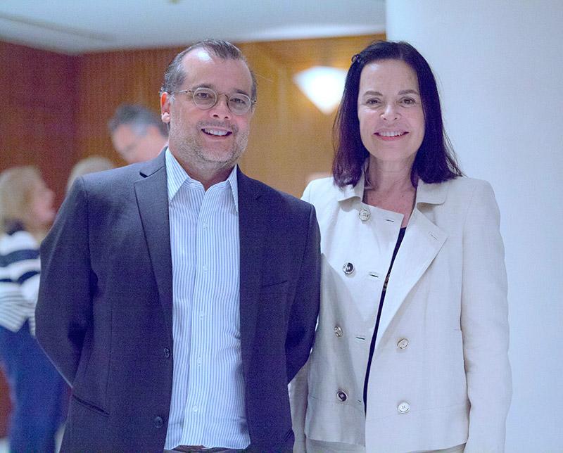 Susan Mace e Gustavo Franco